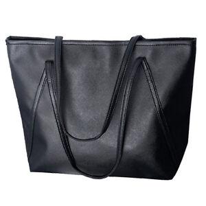 damen ledertasche schultertasche leder handtasche reissverschluss schwarz z2l9 ebay. Black Bedroom Furniture Sets. Home Design Ideas