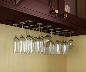 Stemware Wine Glass Rack Cabinet Bottle Holder Kitchen Home Bar