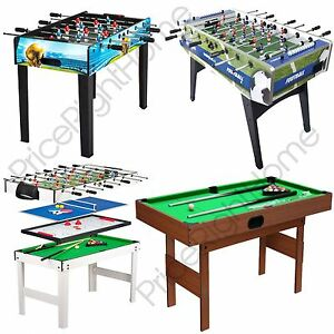 Image Is Loading KIDS GAMES TABLES FOOTBALL AND POOL TABLES PLAY