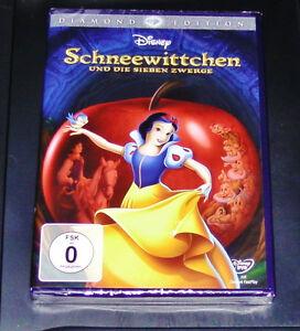 Blanche-Neige Et La Sept Nains Walt Disney Diamond Édition DVD Neuf & Ovp