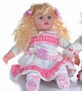 """Girlie Paws 22"""" Sitting Doll , Brand New with Tags, 12 to Choose From"""