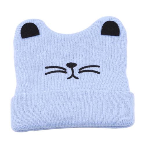Cartoon Animal Bear Comfortable Baby Boy Knit For Girl Winter Hat Toddler Shan