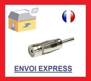 Fiche-Antenne-ISO-Autoradio-CHRYSLER-DACIA-PEUGEOT-OPEL-FORD-bmw