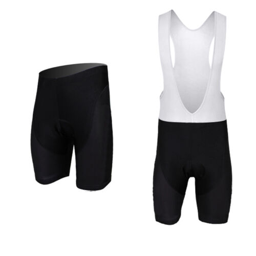 Men's Cycling Shorts MTB Bike Bicycle 3D Padded Bib Short Pants Black S5XL