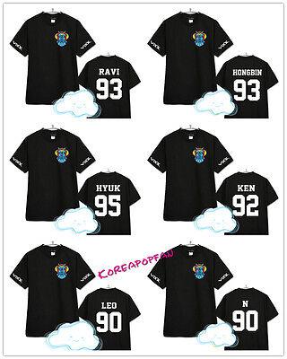 VIXX V.I.X.X 2015 LEO RAVI HONGBIN HYUK KEN N T-shirt Kpop New
