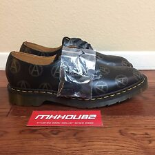 New Supreme x Undercover Dr. Martens Anarchy 3-Eye Shoe Boots FW 2016 Size 10.5