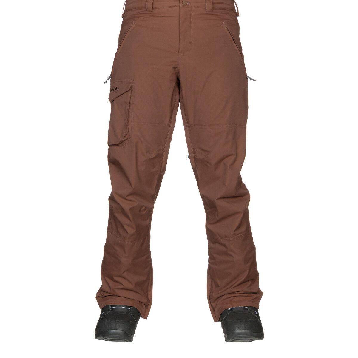 NEW Men's Burton Chestnut COgreen Pant Regular Fit snowboard snow Size Large L XL