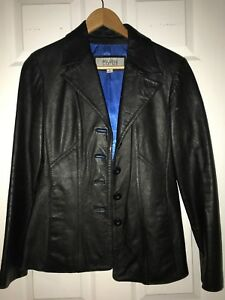 Black Wilson's Woman's Leather S Jacket Størrelse qdfpdv