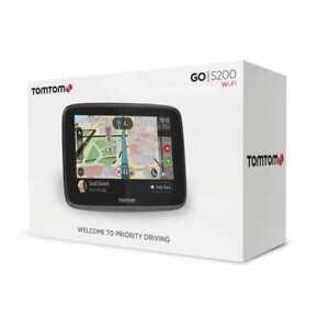 TomTom-Go-5200-World-Navigationsgerat-5-Zoll-Pkw-Navi-Wi-Fi-NEU