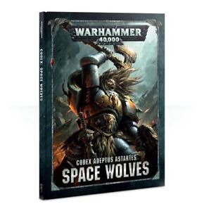Warhammer-40k-Codex-Space-Wolves-Adeptus-Astartes-Brand-New-Free-Ship