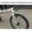 20 Inch Folding Bike Racks For Dahon P8 Shelf Front Frame Basket Rack Aluminum A
