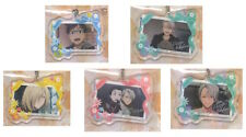 Yuri on Ice Exhibition! ichiban kuji D Prize Acrylic Charm Complete set of 5