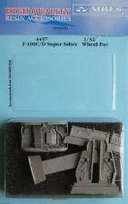 Aires 1/48 F-100C/D Super Sabre Wheel Bay for Trumpeter kit # 4457