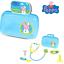 Peppa Pig Childrens Doctor Nurse Carry Case Playset Kit-Neuf