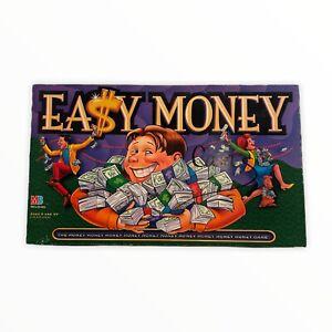 Easy Money Board Game 1996 MB Milton Bradley The Money Game COMPLETE Vintage