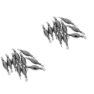 20pcs-Trolling-Spinning-Sea-Fishing-Weights-Sinkers-Swivels-Terminal-Tackle