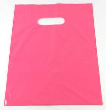 "50  20"" x 5 x 20"" NEW PINK GLOSSY Low-Density Premium Plastic Merchandise Bags"