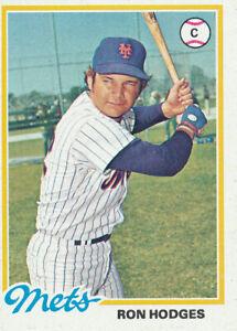1978-Topps-653-Ron-Hodges-New-York-Mets-Baseball-Card