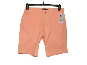 Lee-Mid-Rise-Fit-Bermuda-Cargo-Shorts-6-M-Women-New