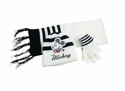Enthusiastic Disney Mickey Mouse Knitted Winter Set Hat Scarf & Gloves Toddlers Boys One Size Puppen & Zubehör