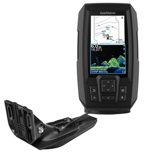 Garmin STRIKER Vivid 4cv Fish Finder GPS Combo W/GT20-TM Transducer 010-02550-00