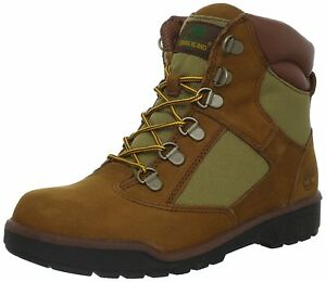 """TODDLERS 44892 NEW BABY TIMBERLAND 6/"""" WATERPROOF FIELD BOOTS BROWN"""