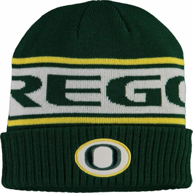 best website 50d70 04a45 Oregon Ducks Nike Sideline Knit Beanie Hat Cap
