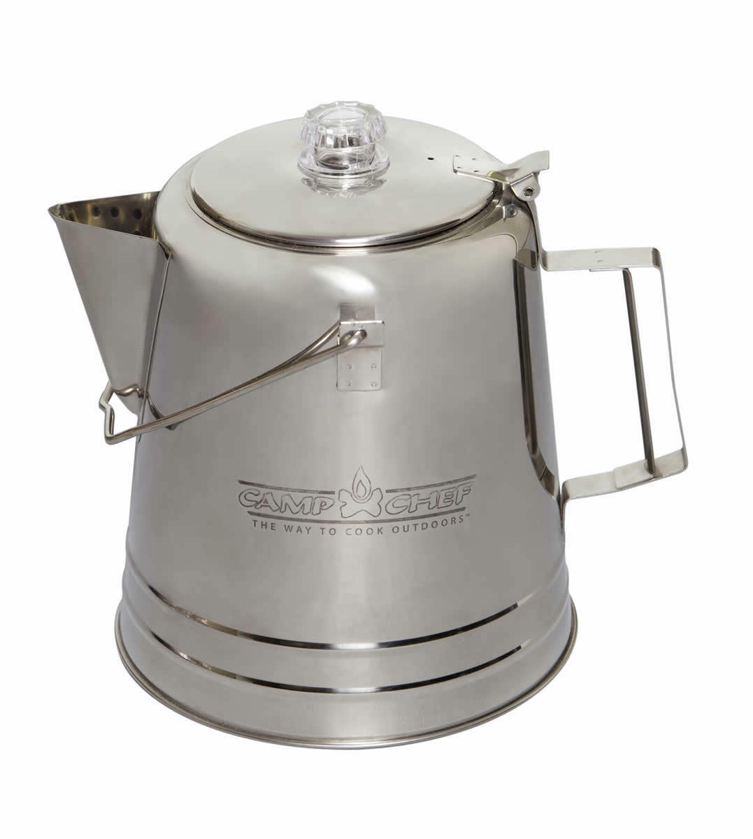 Camp Stainless Chef Stainless Camp Steel Coffee Pot 28 Cup ebdb9b