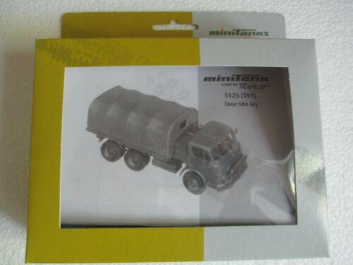 1x Roco Minitanks 551-05064 Z 331 S Steyr 680 M3  ÖBH Bausatz 1:87 HO OVP