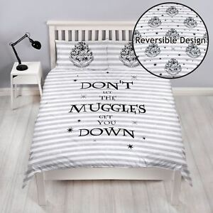 Letto Ragazzi Doppio.Details About Harry Potter Spell Duvet Set Double Bedding Boys 2 In 1 Show Original Title