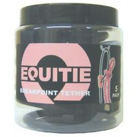 Equitie Multipack X 5 Pack - Rubber Breakpoint Tether For Horses On Yards