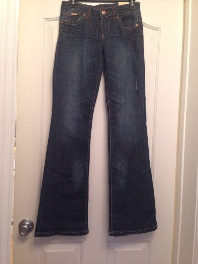 NWT NISSI JEANS bluee Flare Jeans Size 3