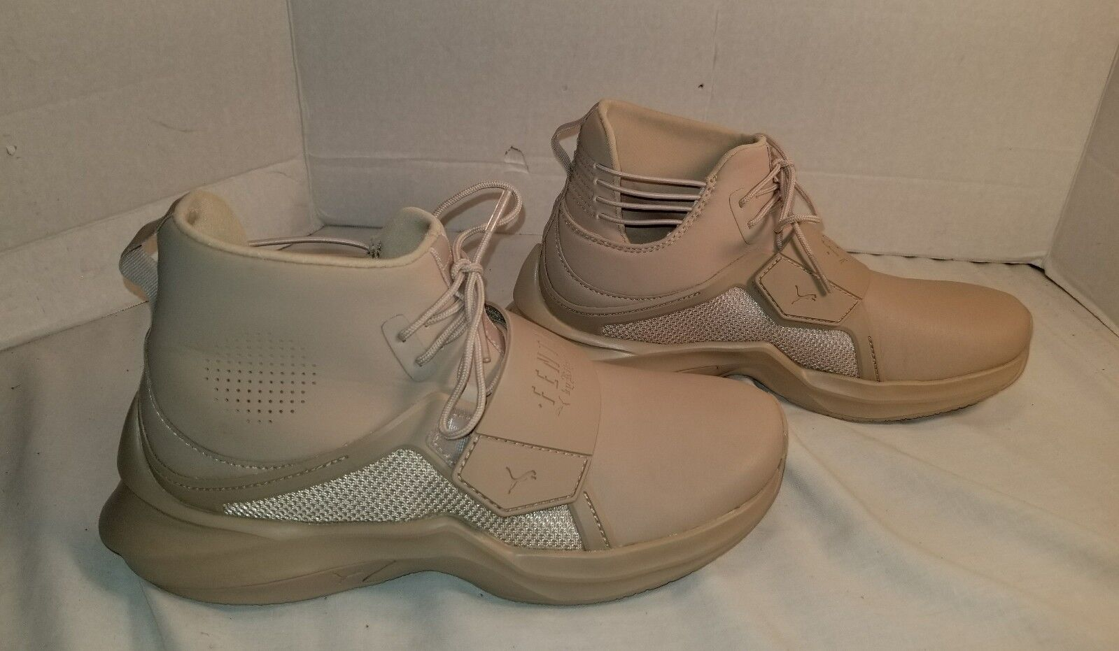 NEW PUMA FENTY FENTY FENTY BY RIHANNA SEASAME TRAINER SNEAKERS WOMEN'S SIZE US 7 6d389b