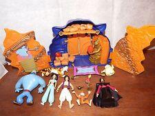 RARE Disney Aladdin Deluxe cave of wonders figure toy playset Jafar Abu Sultan