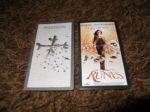 MORTAL INSTRUMENTS CITY OF BONES TRADING CARDS CHARACTER ... |Mortal Instruments Cards