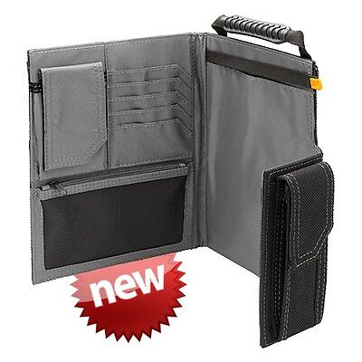 TOUGHBUILT ORGANIZER AND GRID NOTEBOOK LARGE TOU-56-L-C HEAVY DUTY NON SCRATCH