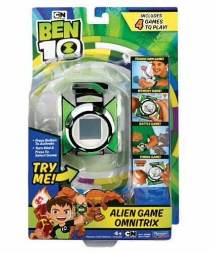 BEN 10 Deluxe Game OMNITRIX 4 Alien Games