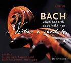 Bach: A Violino e Cembalo Super Audio Hybrid CD (CD, Sep-2015, 2 Discs, Aeolus Music)