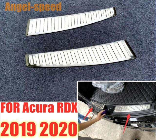 2019 2020 For Acura RDX Stainless Steel Inner Rear Bumper