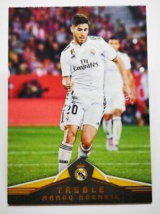 Panini 2018-19 soccer card card treble real madrid #92 marco Asensio