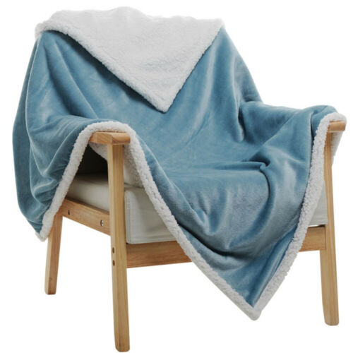 Kuscheldecke Flauschige Wohndecke Flanell Fleecedecke Sofadecke Bettü Decke warm