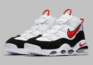 Details about Nike Air Max Uptempo 95 White Black Red Bulls Scottie Pippen CK0892 101 Size 14