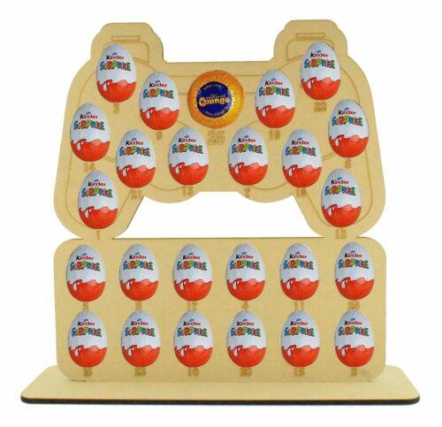 Boys Kids Christmas Playstation Advent Calendar Gift Fits Chocolate Kinder Eggs