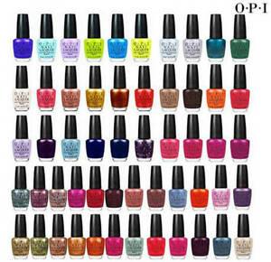 OPI Nail Lacquer Natural Drying Nail Polish Varnish All colours ...