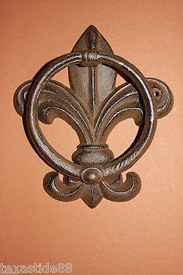 1 Pc French Style Door Knocker Fleur