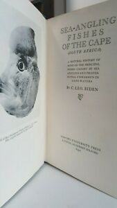 Sea-Angling Fishes of the Cape C. Leo Biden saltwater fishing book big game 1st