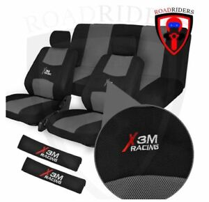 ROAD RIDERS X3M Flexible Universal Seat Cover - GREY