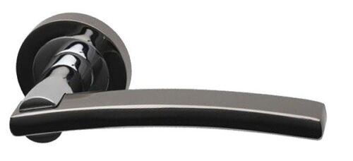 Intelligent Hardware Opal Double Finition PCP//BLK Poignées de porte
