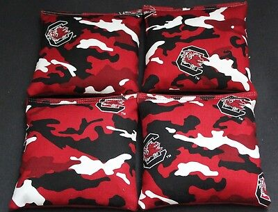 Swell Usc South Carolina Gamecocks 4 Cornhole Bean Bags Toss Game Quality Handmade Ebay Gamerscity Chair Design For Home Gamerscityorg