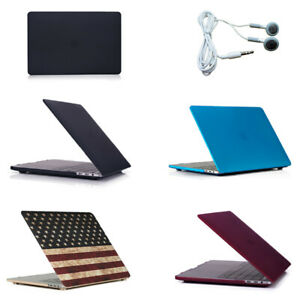 """Case For Macbook Pro 13"""" 2020  A2338 Hard Plastic Cover With Earphones"""